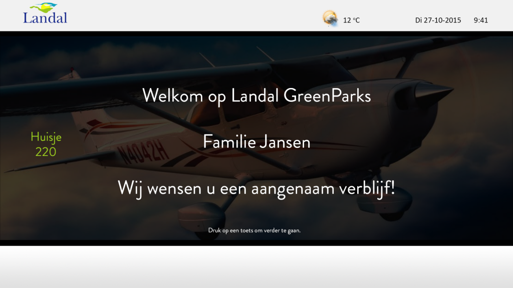 Landal GreenParks embraces Hospitality TV | Divitel