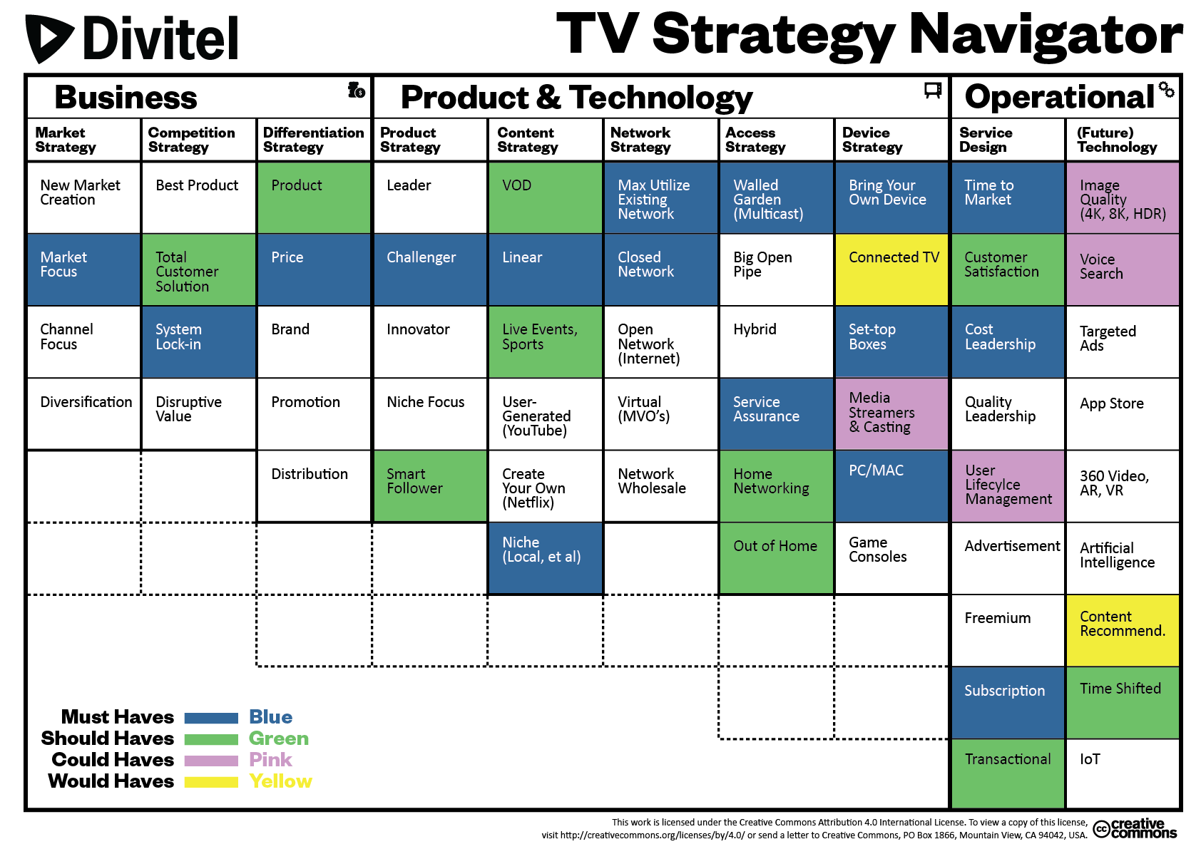 TV Strategy Navigator - Filled Out