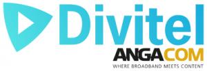 Divitel and ANGA COM logo | Divitel