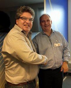 Hans Kornmann welcomes Mourad Veeneman