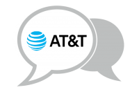 AT&T speach balloon