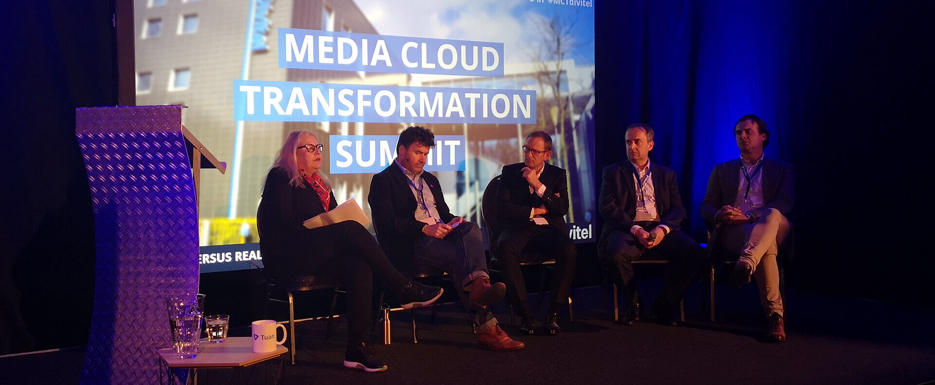 Panel Discussing Cloud summit